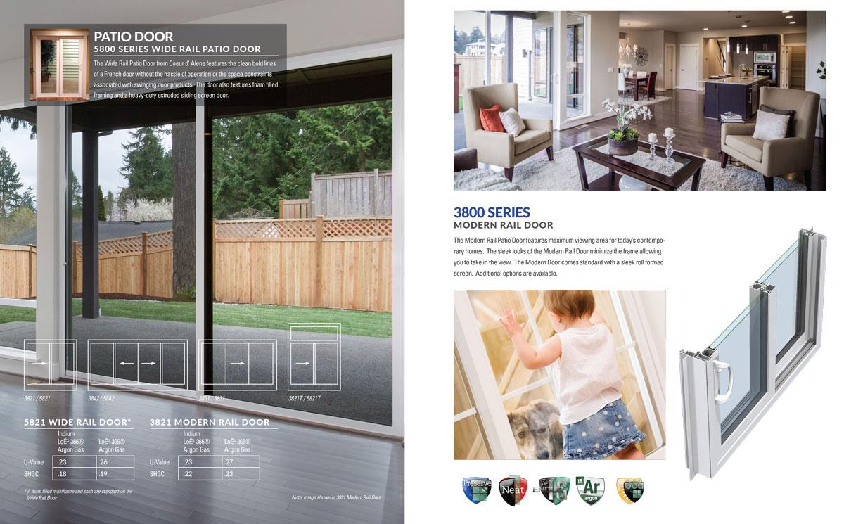 brochure design example window industry
