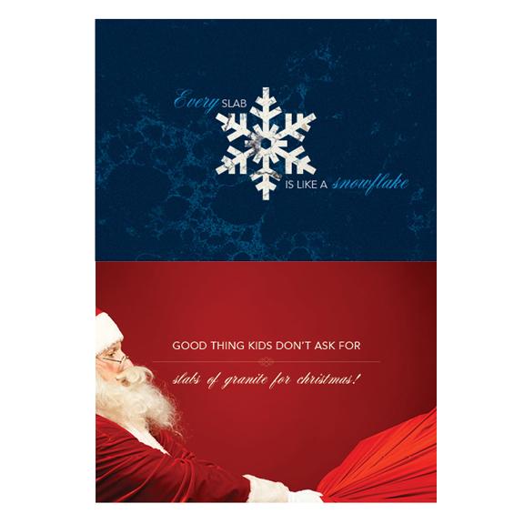 granite creative christmas card design