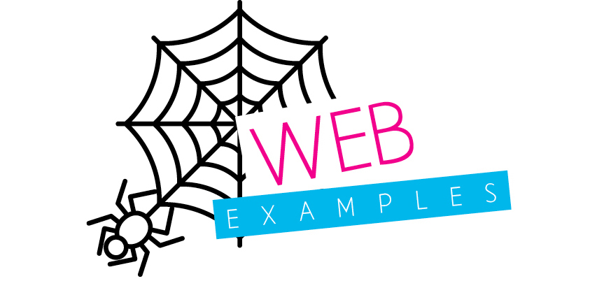 text web examples